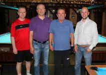Gerhard Butz ist 8-Ball-Vereinsmeister